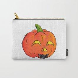 Pumpkin Groom Carry-All Pouch