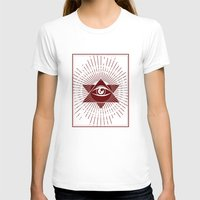 third eye T-shirts featuring Third Eye by Stranger Designs