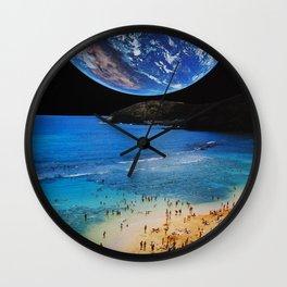Beach Party 2014 Wall Clock