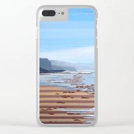 Jalama Beach Landscape Clear iPhone Case