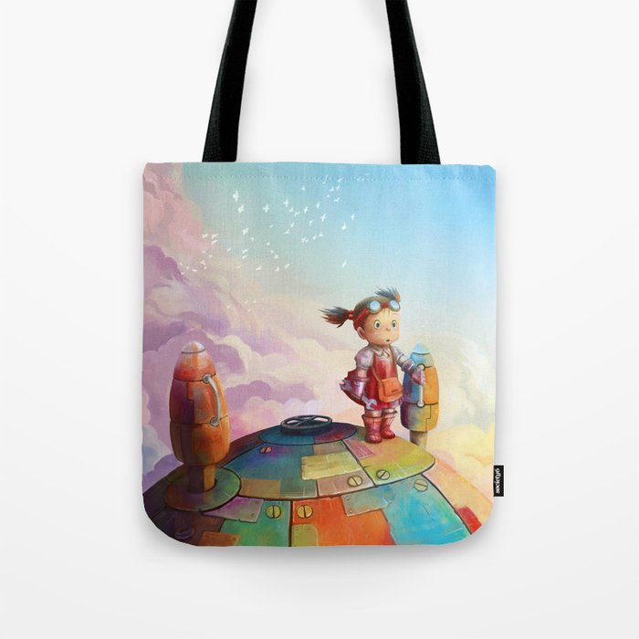 MEI and TOTORO Tote Bag
