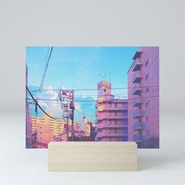 Pastel City Mini Art Print
