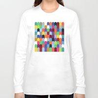 onward Long Sleeve T-shirts featuring Onward Series: Soirée by Designer Ham