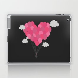 Balloons arranged as heart Laptop & iPad Skin