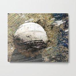 Volleyball Art Metal Print