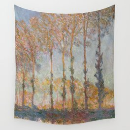 Claude Monet, French, 1840-1926  Poplars on the Bank of the Epte River Wall Tapestry
