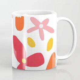 Pink Flowers and Petals Coffee Mug