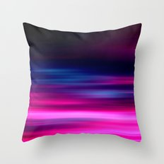 purple sunset II Throw Pillow