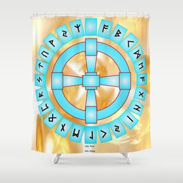 Odins Portal Shower Curtain