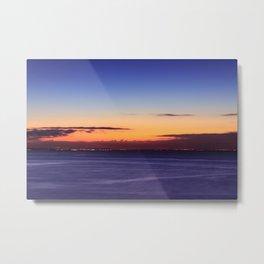 Twilight to Sunrise Metal Print