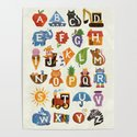 Alphabet by wanderingbert