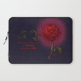 Beauty and the Beast - Enchanted Rose Laptop Sleeve