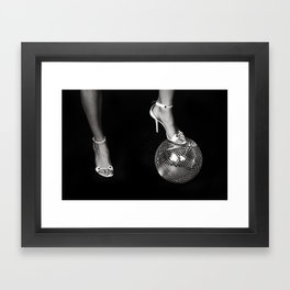 Disco Lies Framed Art Print