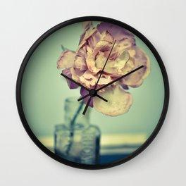 Pretty Flower 1 Wall Clock