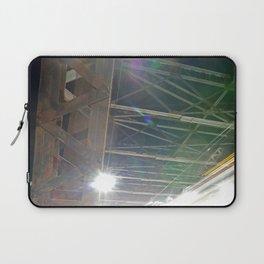 LIGHT ABSTRACT 6: Cherry Street Truss Bridge, Toronto Laptop Sleeve