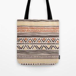 Hand Drawn Ethnic Pattern Tote Bag