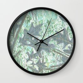 Last days of August Wall Clock