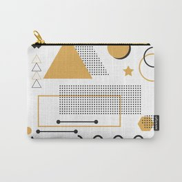 Memphis Pattern Design Carry-All Pouch