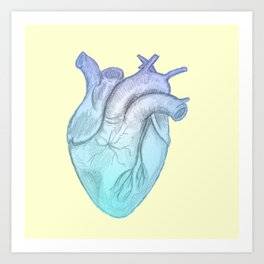 Cold Hearted Art Print