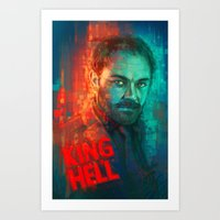 crowley Art Prints featuring Crowley... MORONS! by Sempaiko