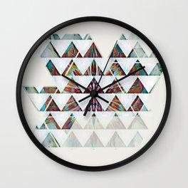 Geo Color Set Wall Clock