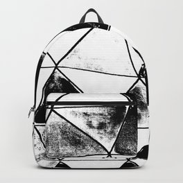 Vitro black and white Backpack