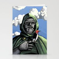 mf doom Stationery Cards featuring Doom by David Comito