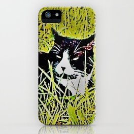Cat by Mandy Groves iPhone Case