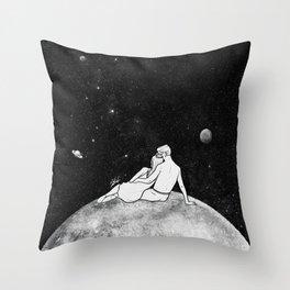 The greatest moon. Throw Pillow