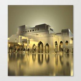 Sultanate Of Oman - Royal Opera House Canvas Print