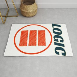 Been looking for the perfect logo of Logic? Here's the perfect tee for you! Makes a nice gift too!  Rug