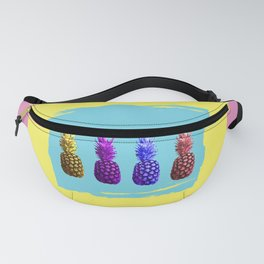 Hot Summer Juicy Fruit Pineapples Fanny Pack