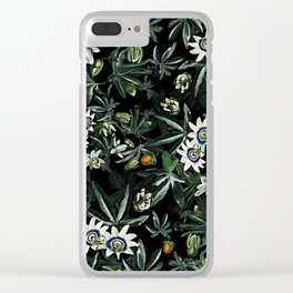 EXOTIC GARDEN - NIGHT XI Clear iPhone Case