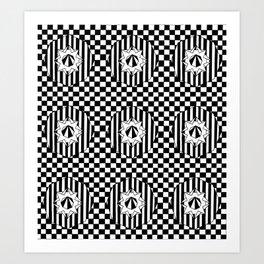 Check mate Art Print