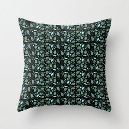 Fairy Foliage I Throw Pillow
