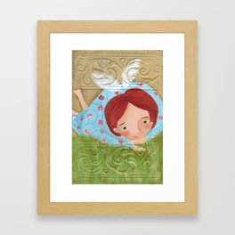 Ángela Framed Art Print