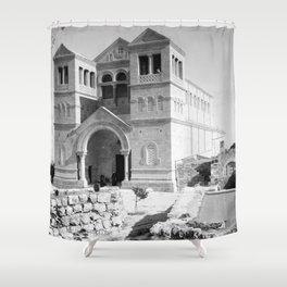 Mt. Tabor church Shower Curtain