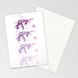Fading After Battle Stationery Cards
