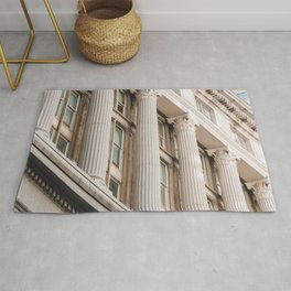 Pillars of the Neighborhood - NYC Photography Rug