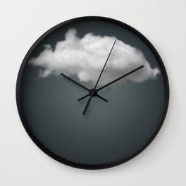 Dark Cloud is Beautiful. Modern art, Humour, Clever Wall Clock