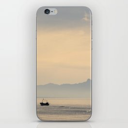 View of Circeo from a distance iPhone Skin