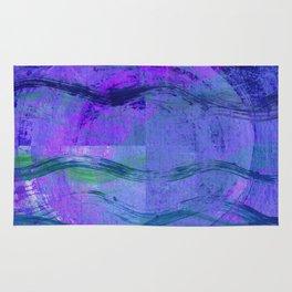 Jala (Water) Abstract Rug