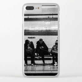 Metro Delay Clear iPhone Case