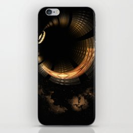 Fractal Solar Eclipse iPhone Skin