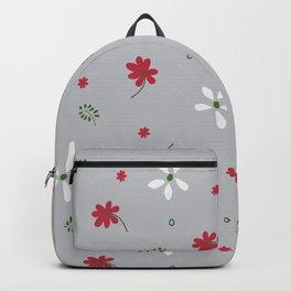Flowers n Leaves 1a Backpack