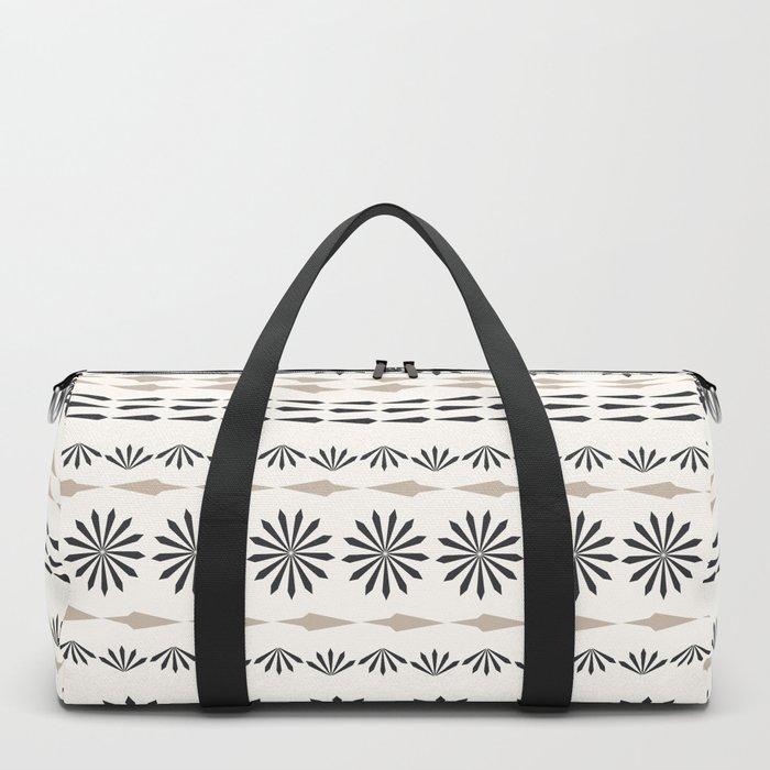 Nordic winter pattern Duffle Bag