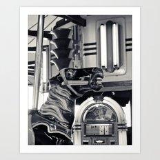 Giddy Giddy Carousel Art Print