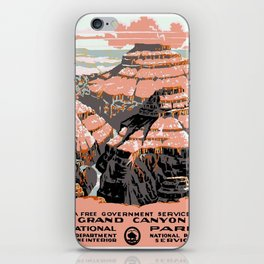 Vintage poster - Grand Canyon iPhone Skin