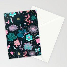 Cherry blossom pattern Stationery Cards