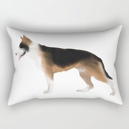 German Shepherd: Panda Rectangular Pillow